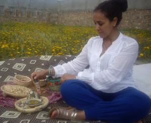 Khadija Fajry - Founder & CEO KENZA International Beauty : Getting a pure  Argan beauty treatment at the women cooperative in Morocco