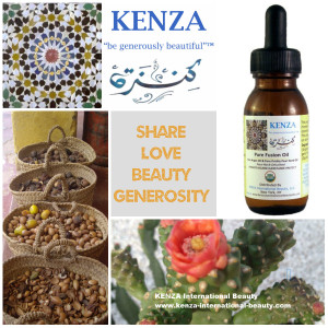 KENZA Pure Fusion Oil Share LOVE-BEAUTY-GENEROSITY