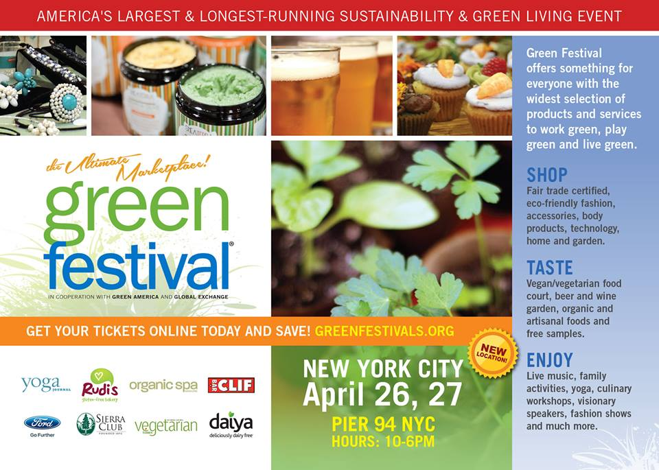 KENZA International Beauty at Green Festival NYC 2014