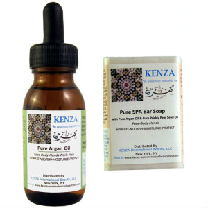 KENZA Pure Argan oil & KENZA Pure SPA Bar SOAP No USDA