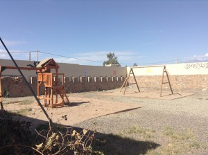 Playground built by 1040i Non Profit Organization Arazane, Morocco