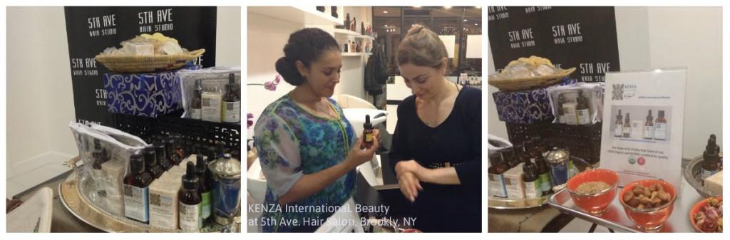 KENZA International Beauty at 5th Ave. Hair Studion, Brooklyn NY