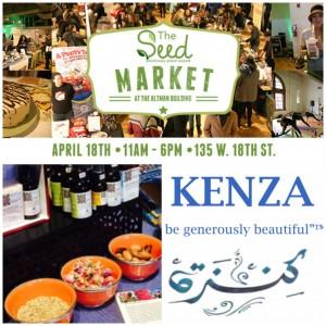 KENZA International Beauty at the Seed Market NYC