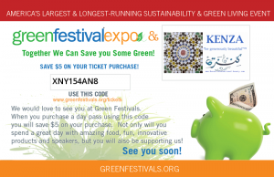 Save $5 on your tickets to the GREEN Festival NYC