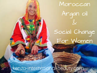 Argan oil Social change