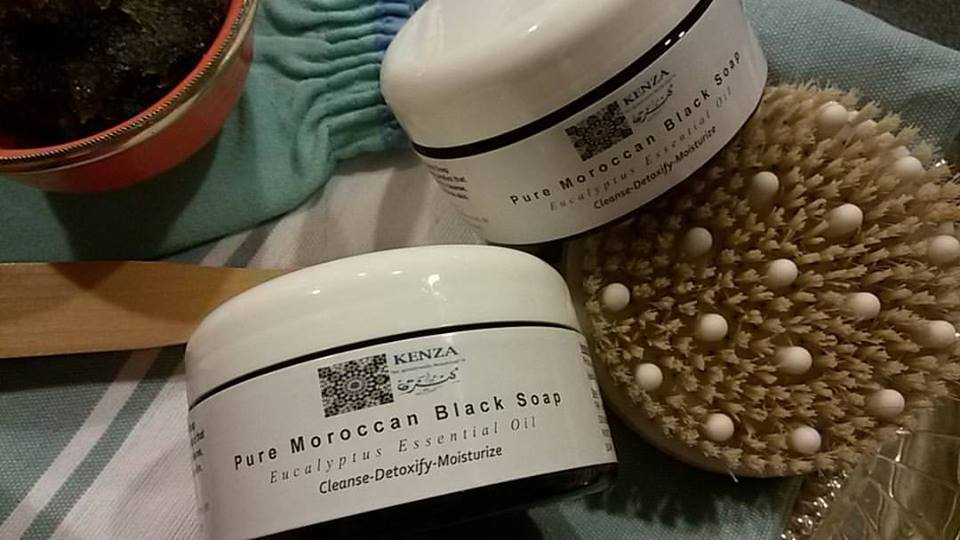 Moroccan Black Soap scrub