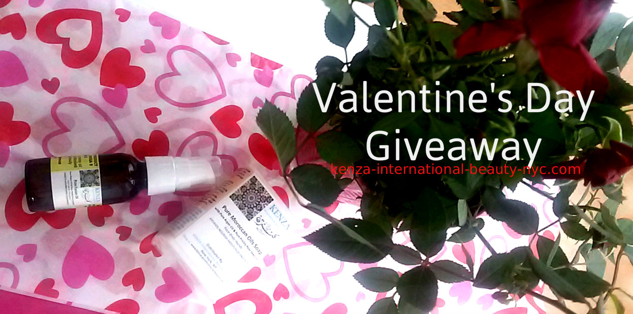 Valentine's Day Moroccan Oils Giveaway