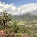 The road through the Atlas mountains to Ouarzazate Morocco 2018