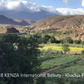 Beautiful view in the Atlas mountains