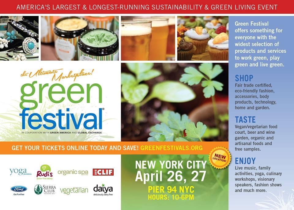 KENZA International Beauty at Green Festival NYC 2014