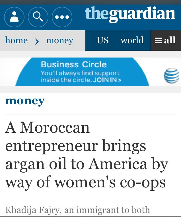 My Morocco. My Moroccan oils – via The Guardian