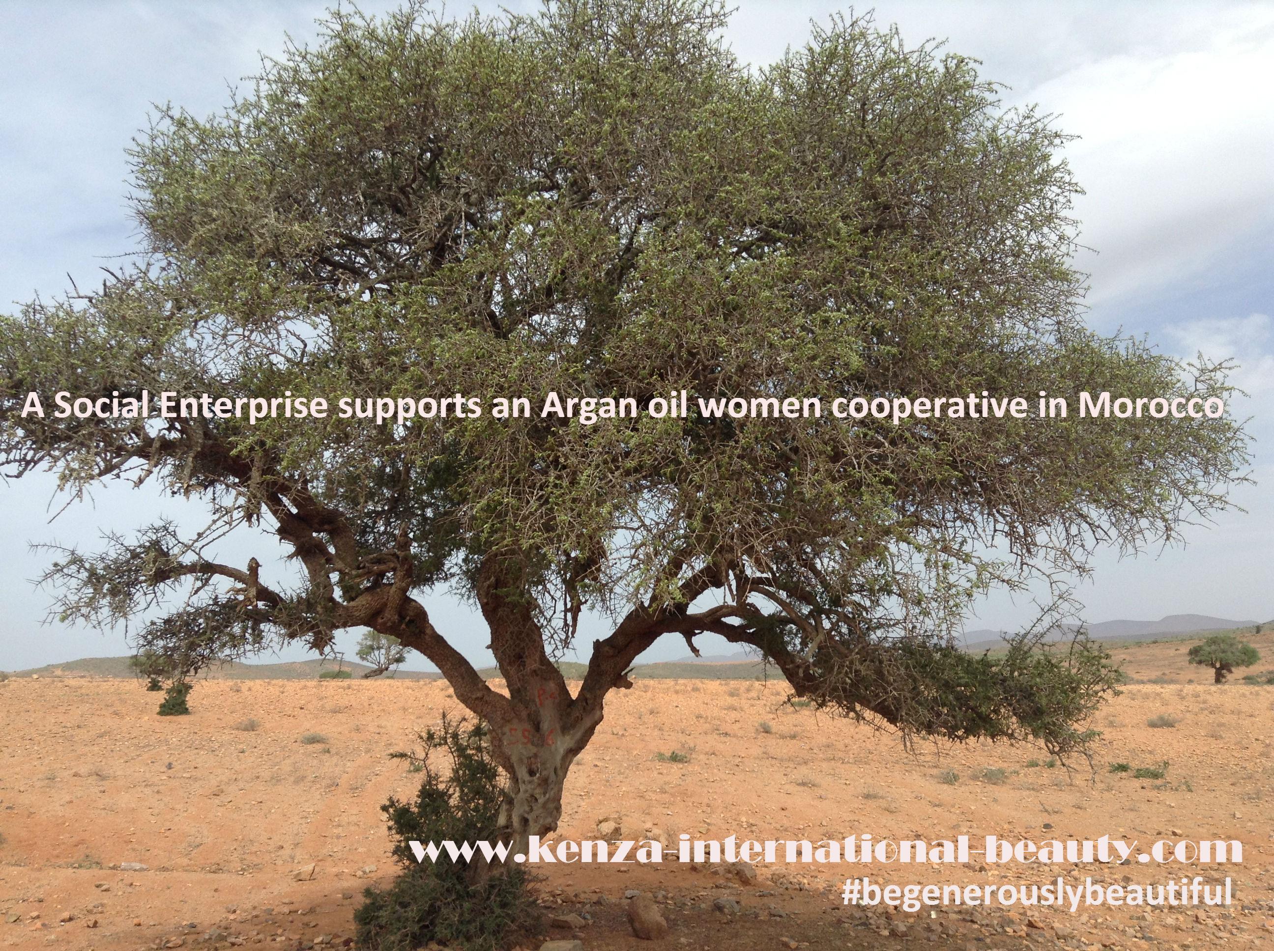 A Social Enterprise supports an Argan oil women cooperative in Morocco