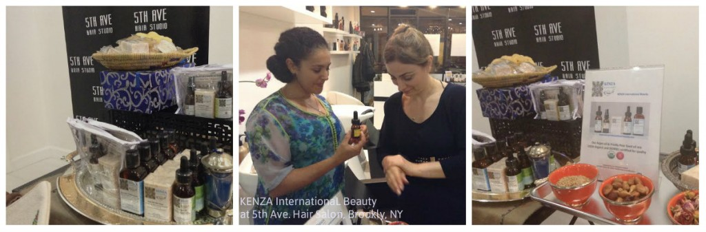 KENZA International Beauty at 5th Ave. Hair Studion, Brooklyn NY