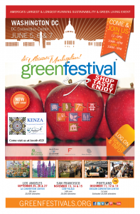 KENZA International Beauty at the GREEN Festival DC -2015