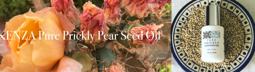 KENZA Pure Prickly Pear Seed Oil  Cactus Flowers