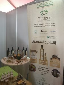 cooperative Tirizite at Produits du Terroir Fair in Agadir - Khadija Fajry