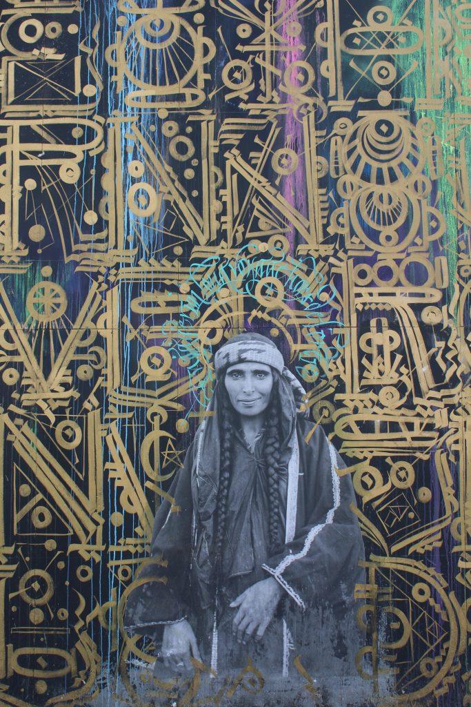 Street Art in Paris Woman